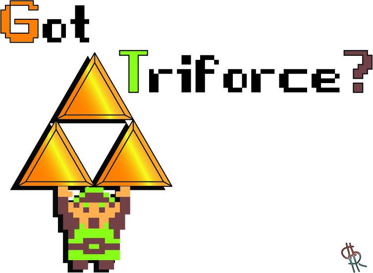 Got Triforce? (T-shirt idea)