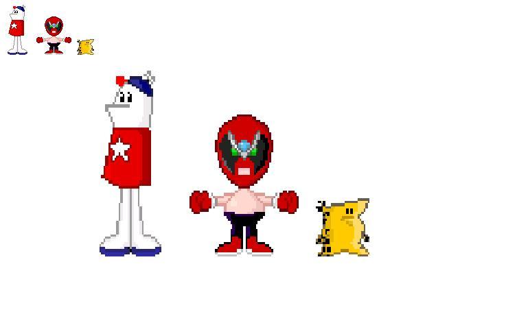 Strongbad pixel art