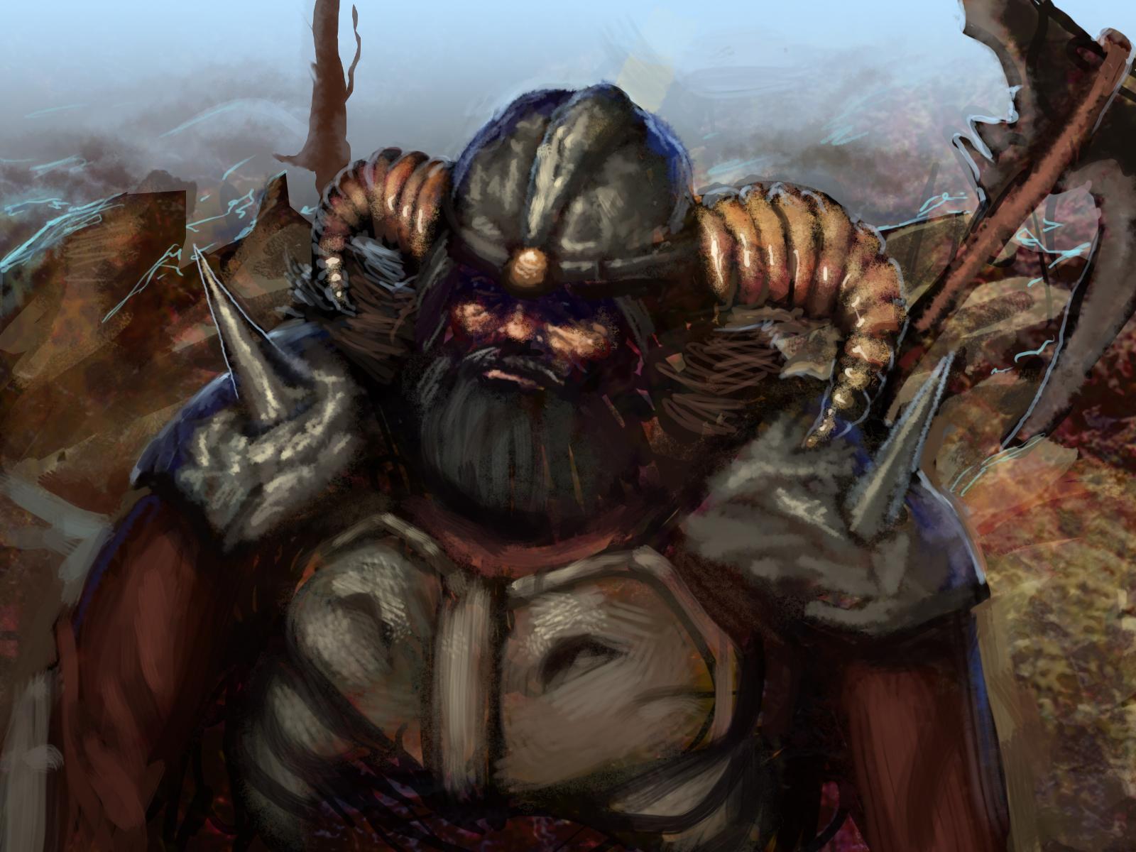 Speedpainting - Warlord