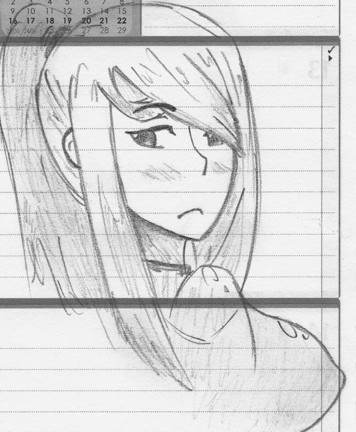 Zero Suit Samus Sketch 3