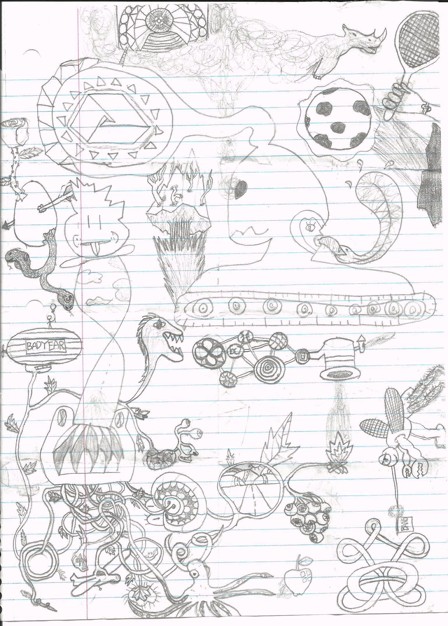 Trippy Doodle