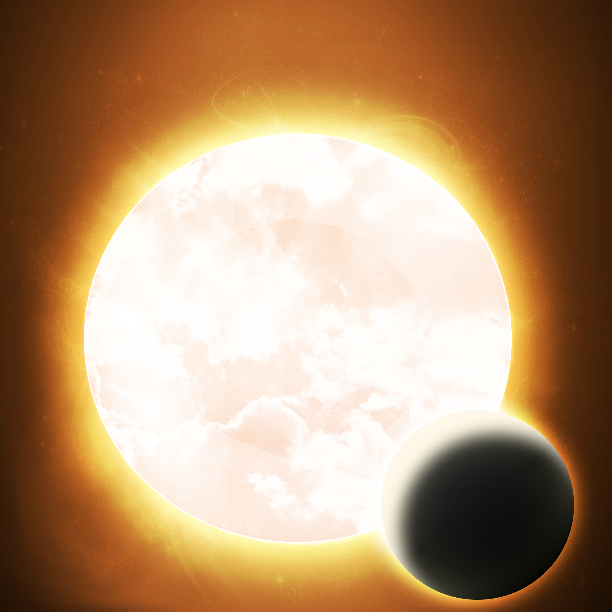 A dying star