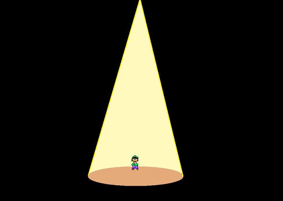 Luigi in the light