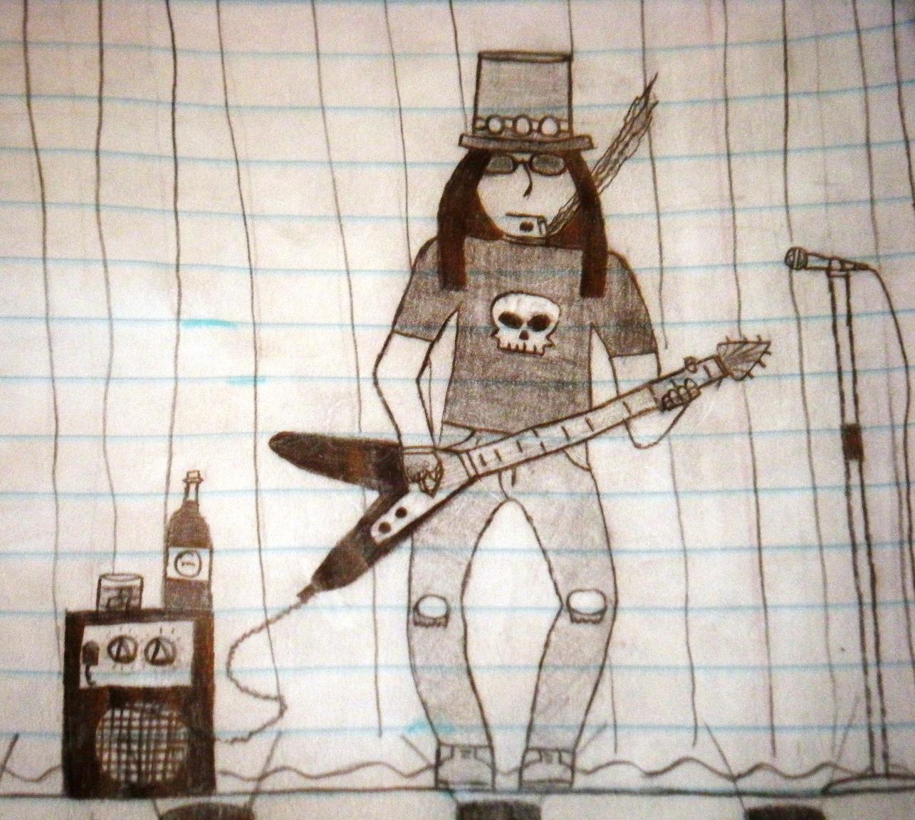The Lone Guitarist