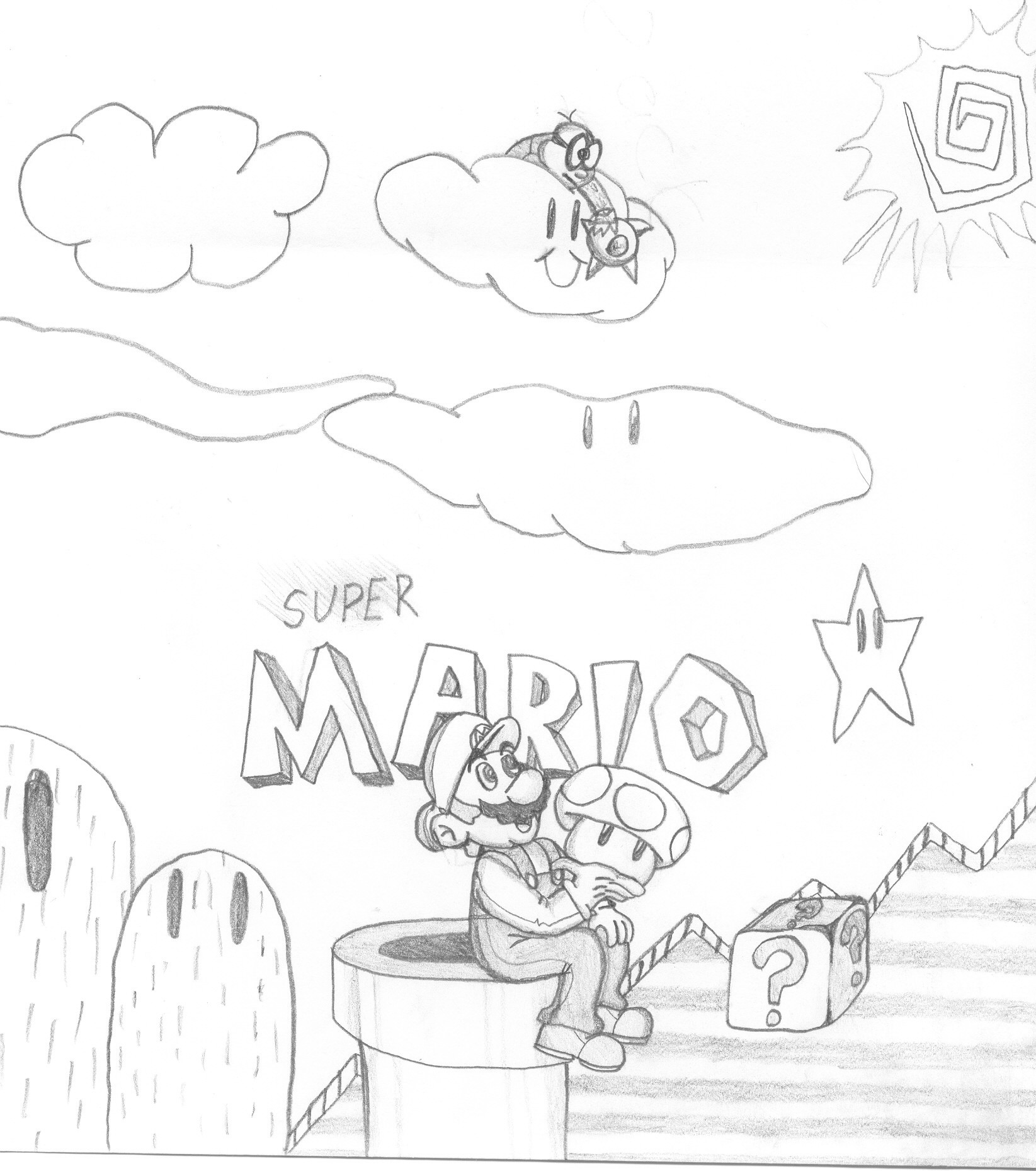 Super Mario (VERY OLD)