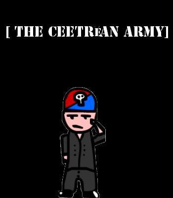 Ceetrean Army Poster