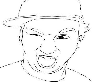 Crazy face