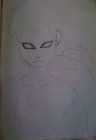 Gaara drawing