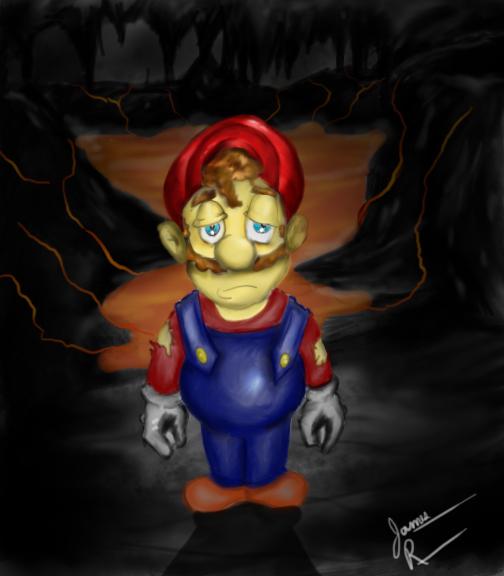 Lonely Mario