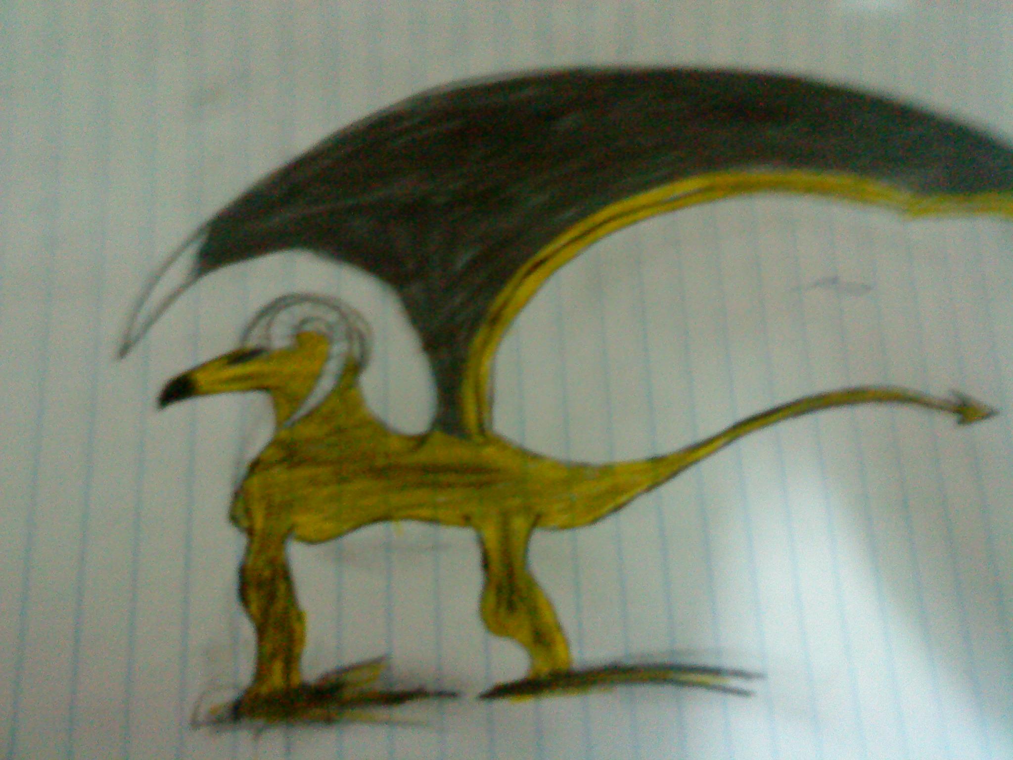 badly drawn griphon