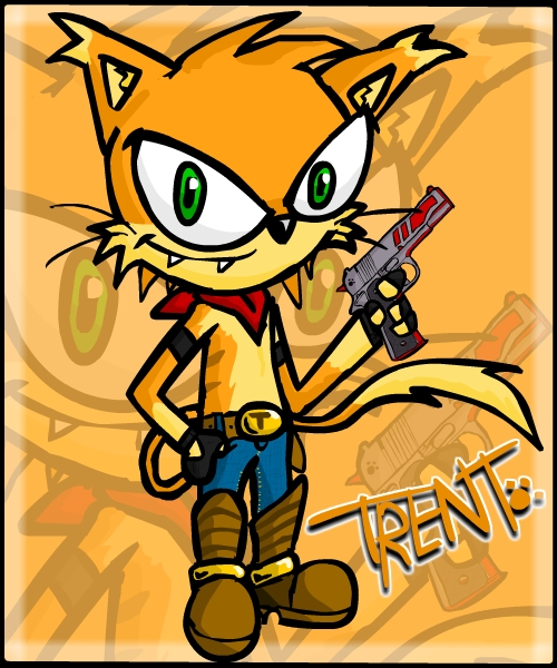 Trent the Gun´s cat