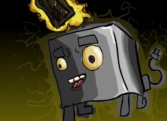 Kick Ass Toaster