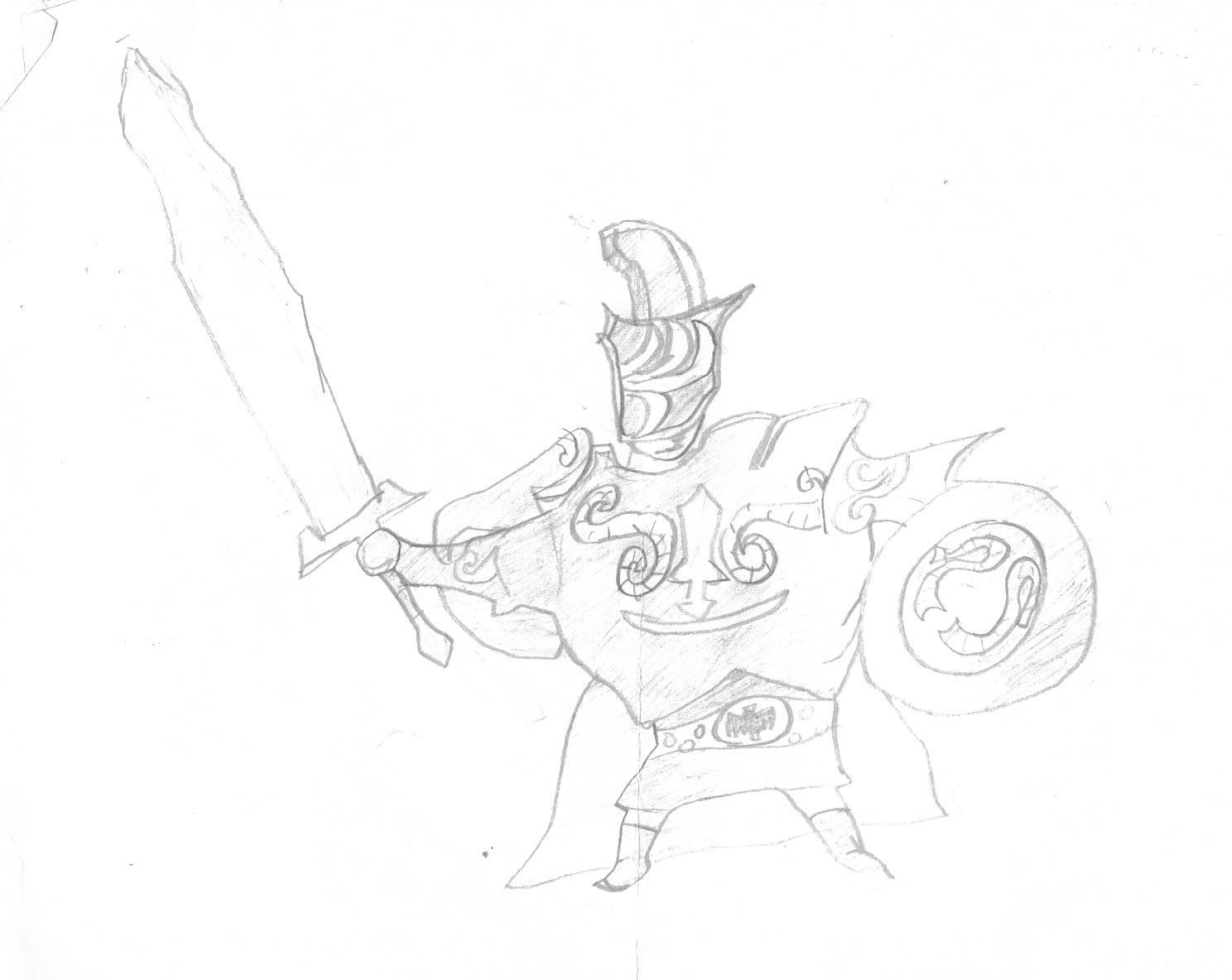 Darknut(WW) Sketch