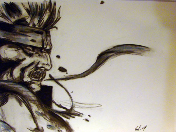 SOlid Snake Charcoal