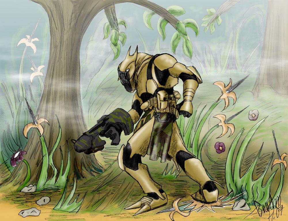 Jungle Creature