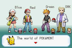Pokemon Firered Tribute