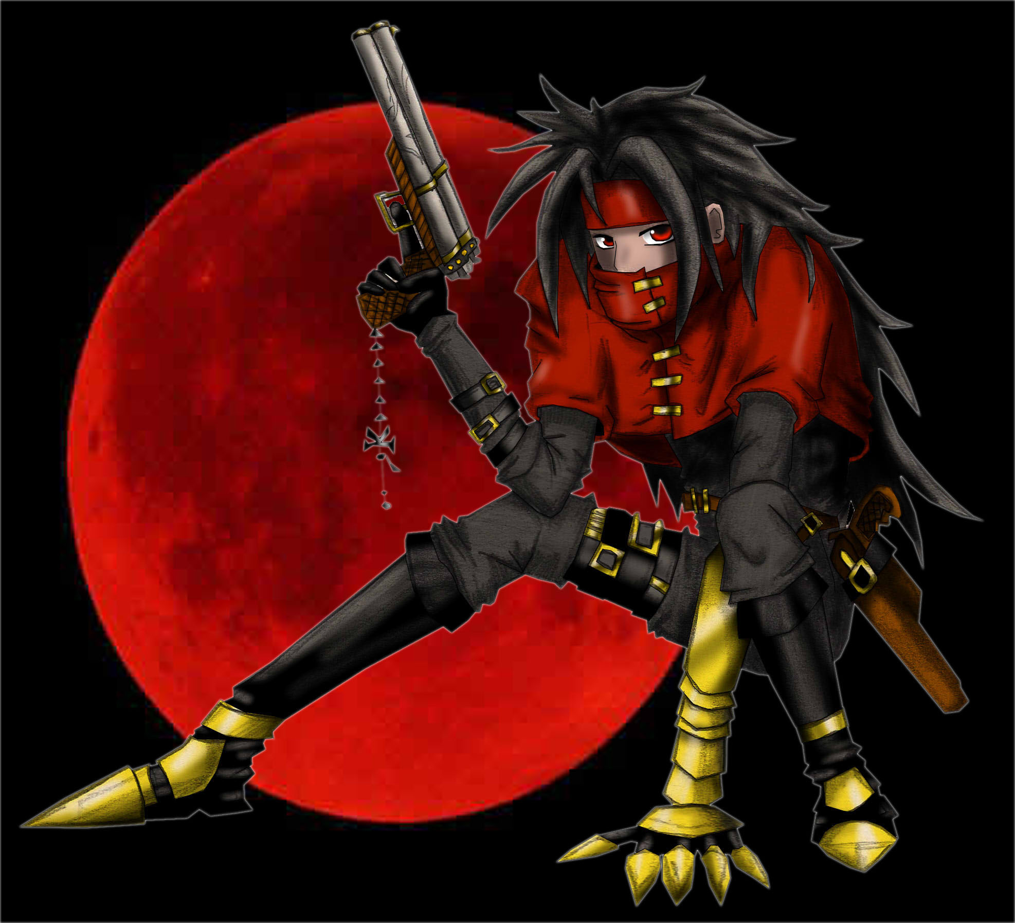 Vincent Valentine Fan Art
