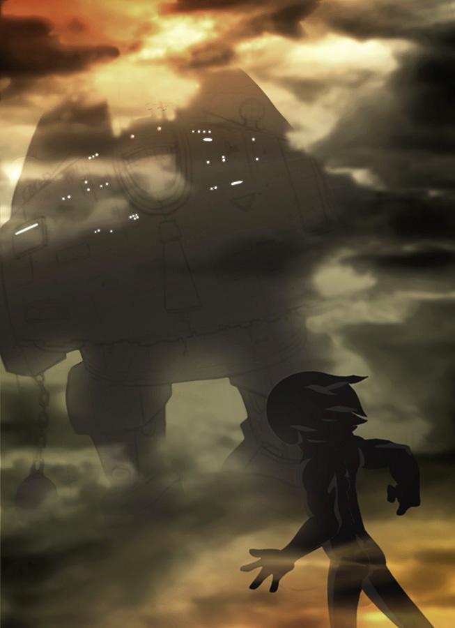 Tarboy vs Giant Robot