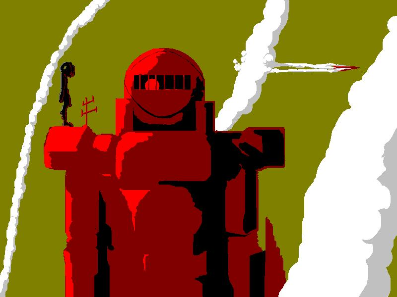 The big red robot