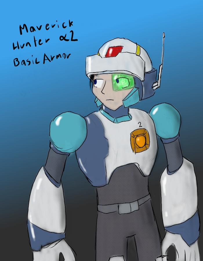 MaverickHunter Soldier Alpha 2