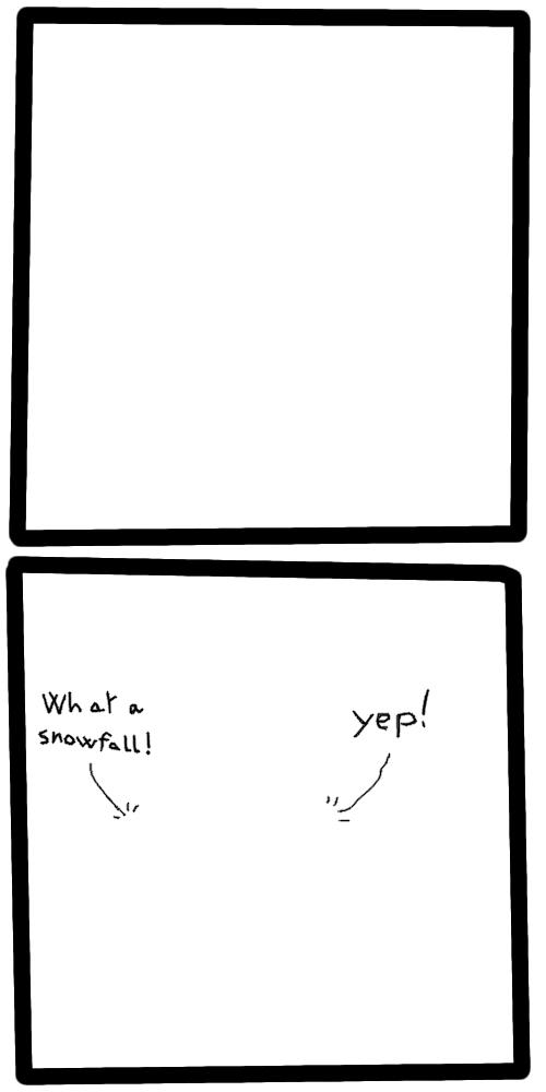 Simple comic strip