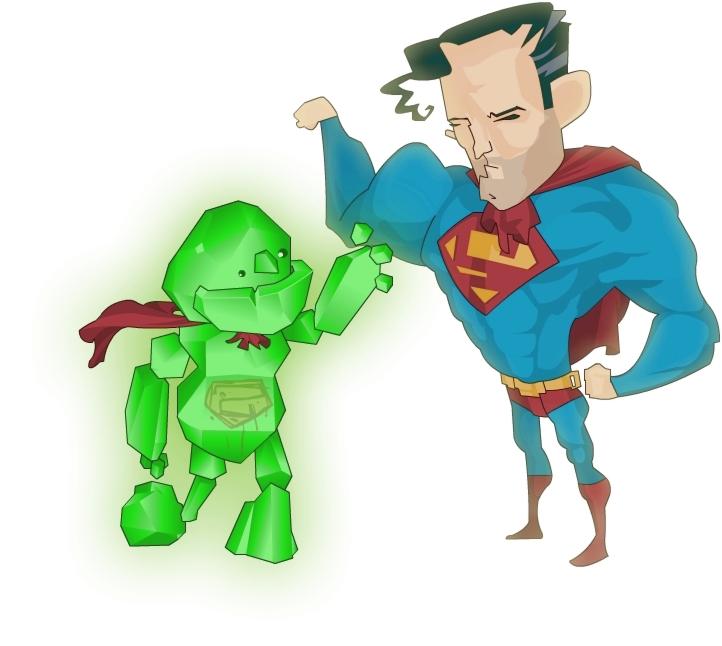 Steve vs. Superman