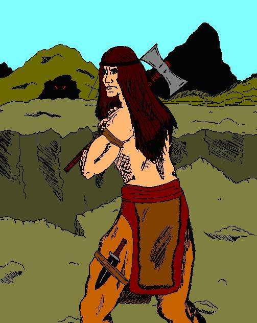Dagon the Barbarian