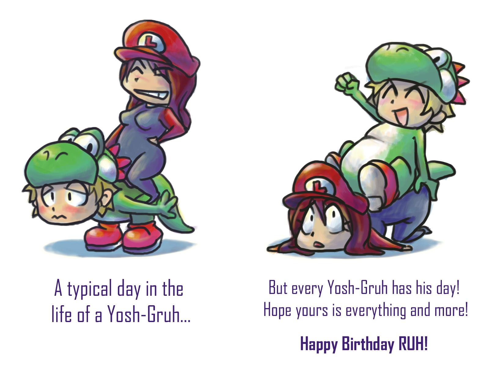 Gruh's Birthday Card