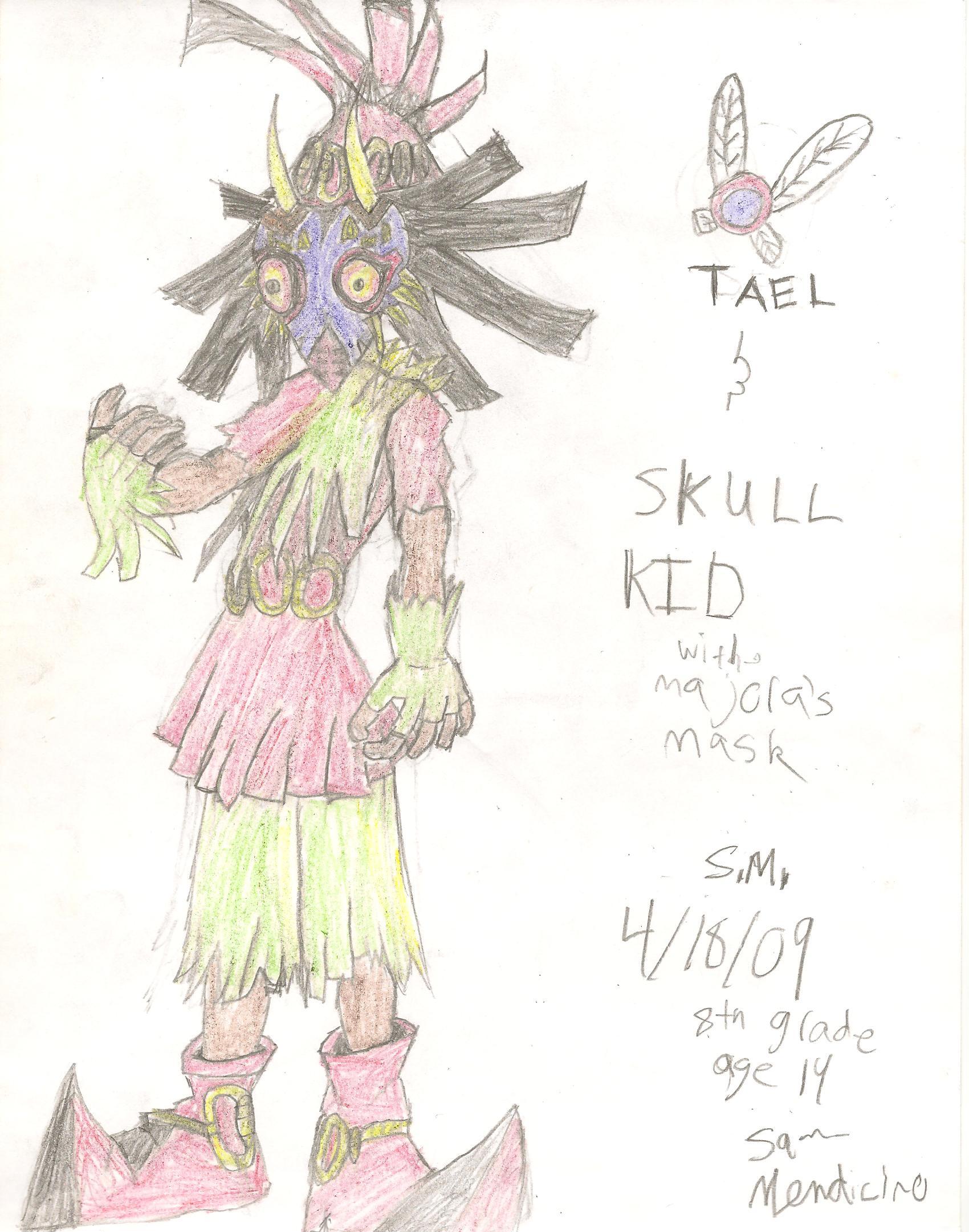 SkullKid from legend of zelda