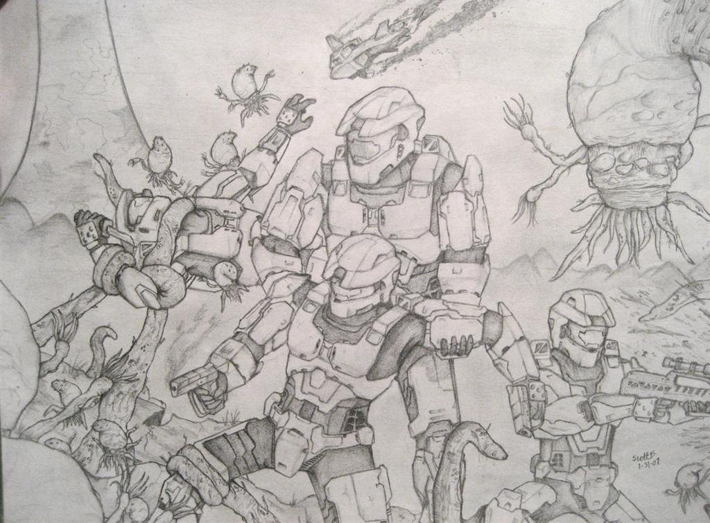 Halo : Struggle