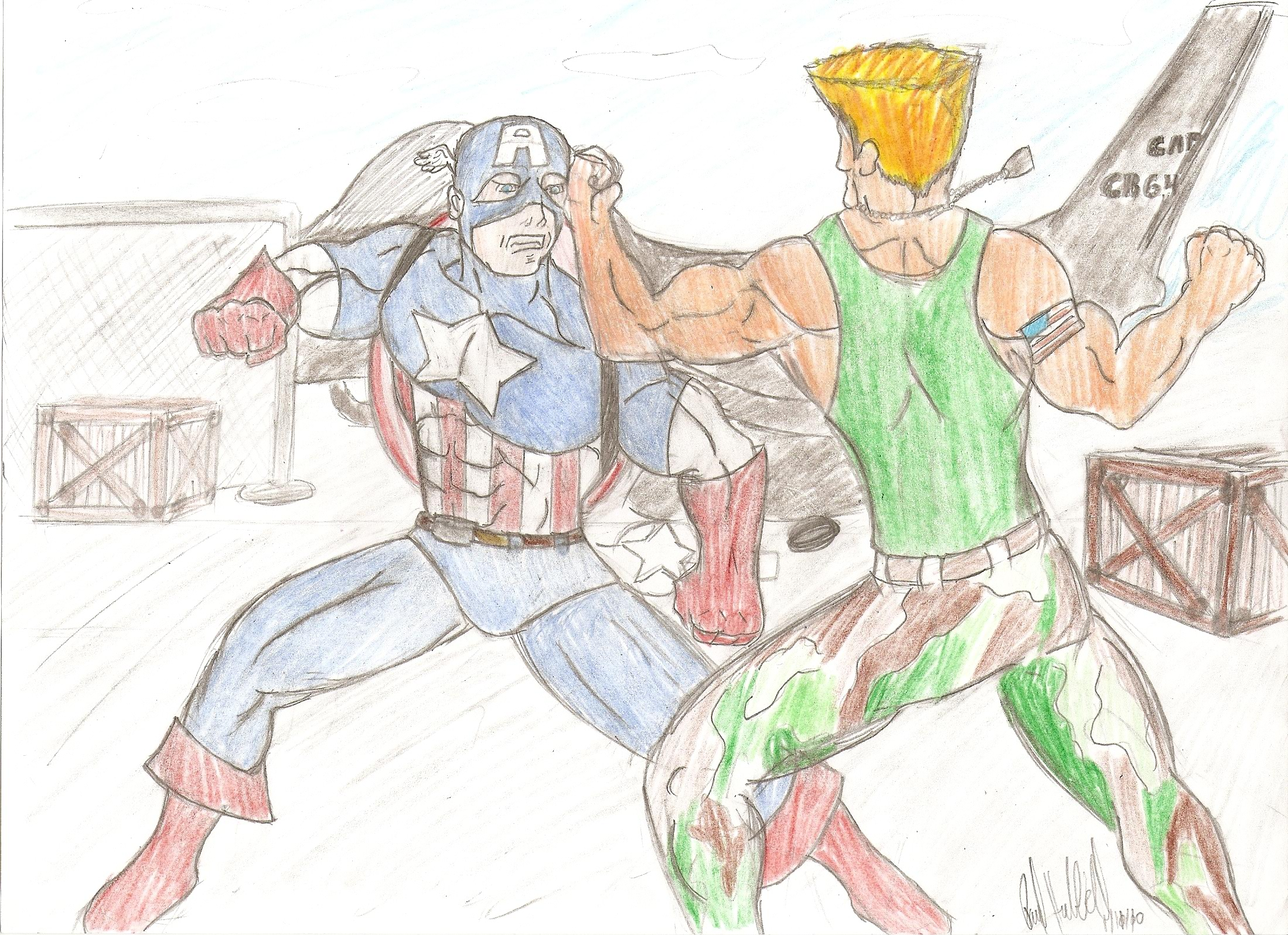 Cap'n A and Guile