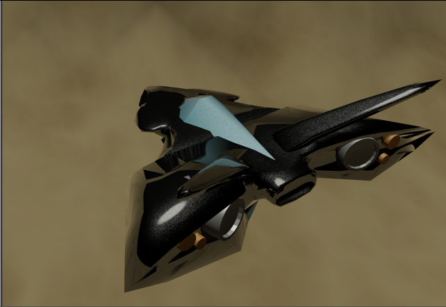 Space Ship Finished 1