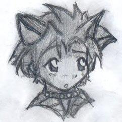 Neko person kid I drew