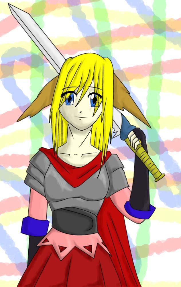 Edit: Lady Elf Warrior