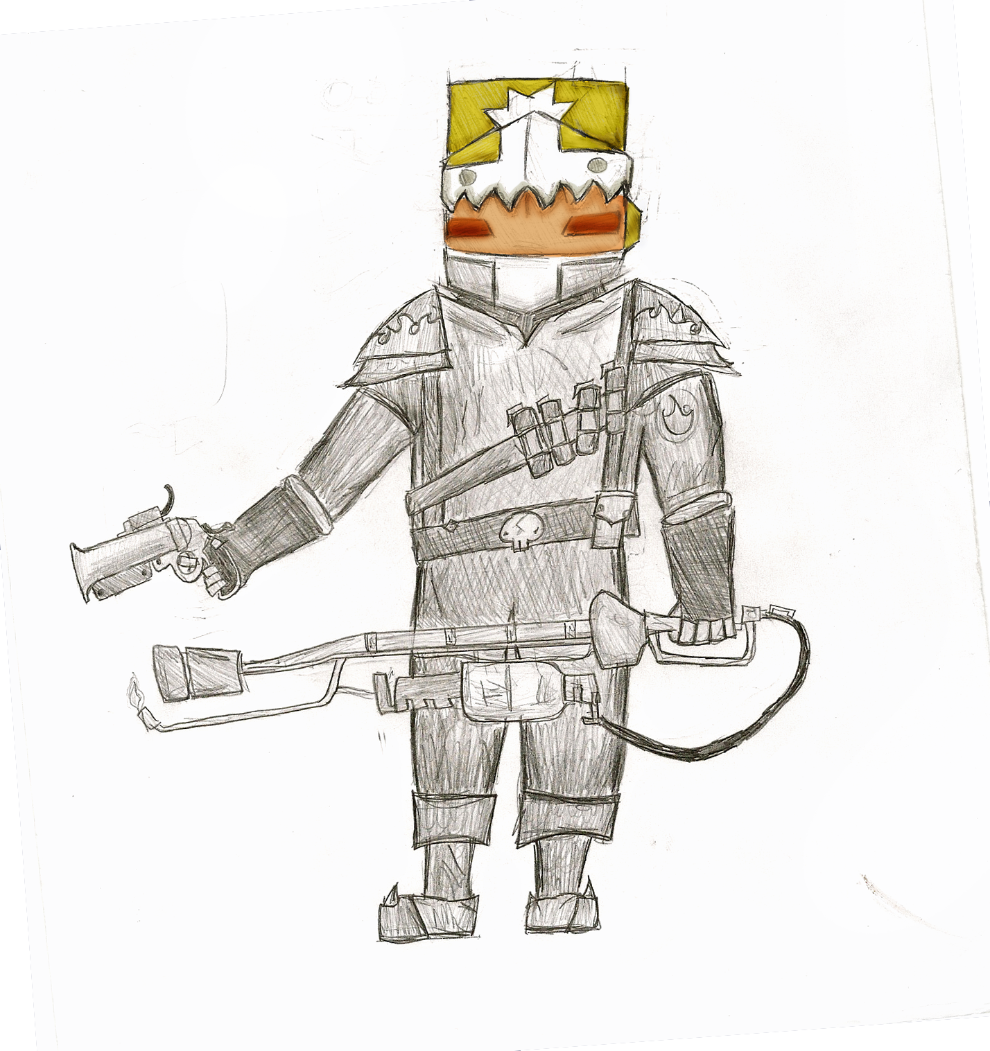 Pyro Knight WIP
