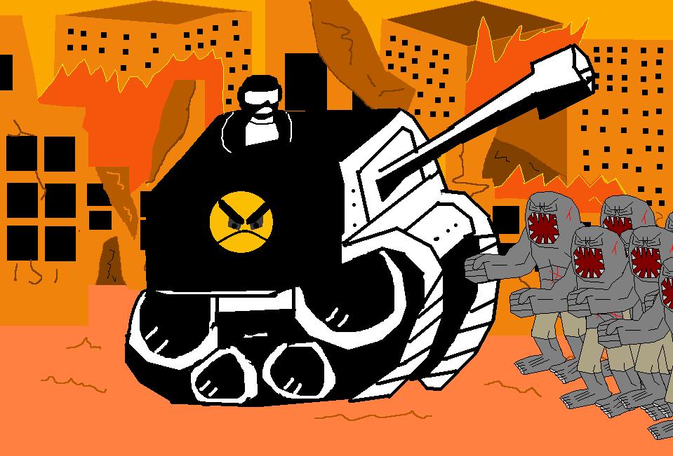 Tankmen vs Zombies