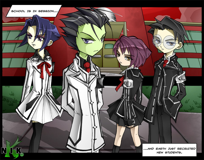 Vampire Knight and Invader Zim