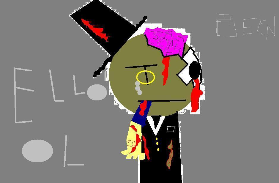 fancy zombie