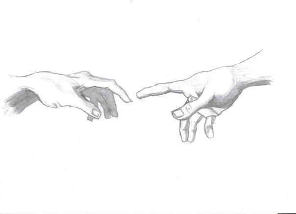 Creation of Adam Sketch