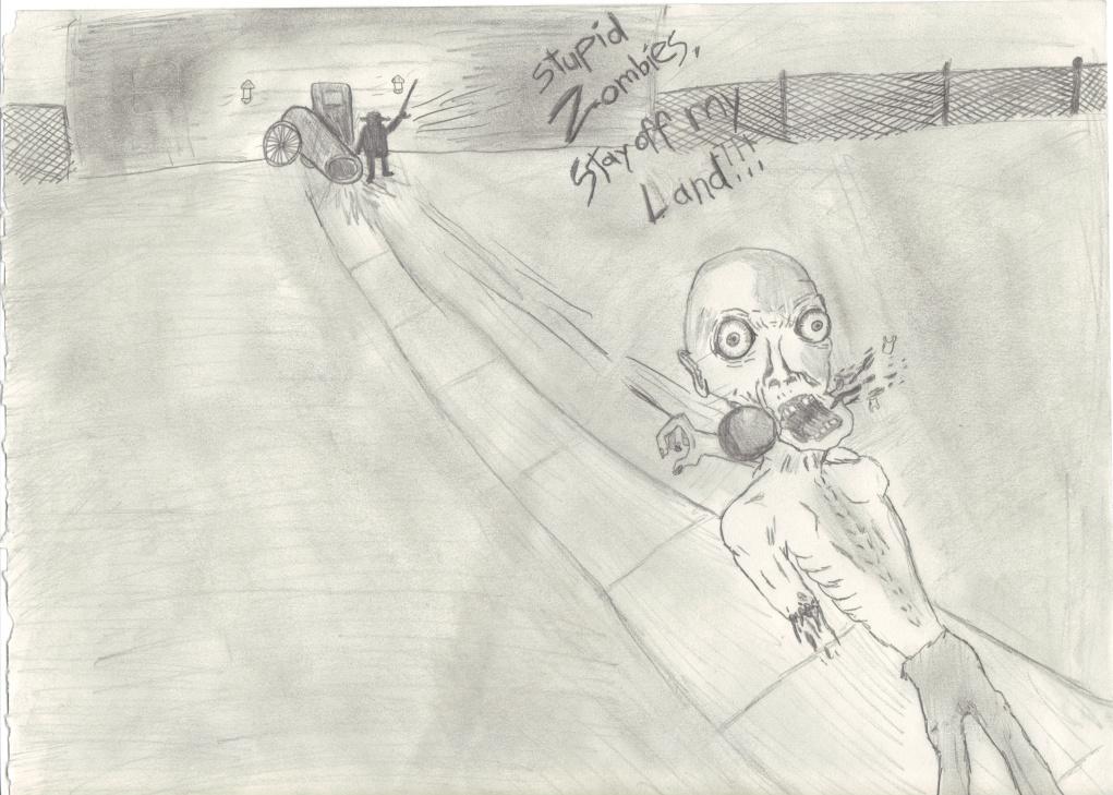 Zombie Intruder