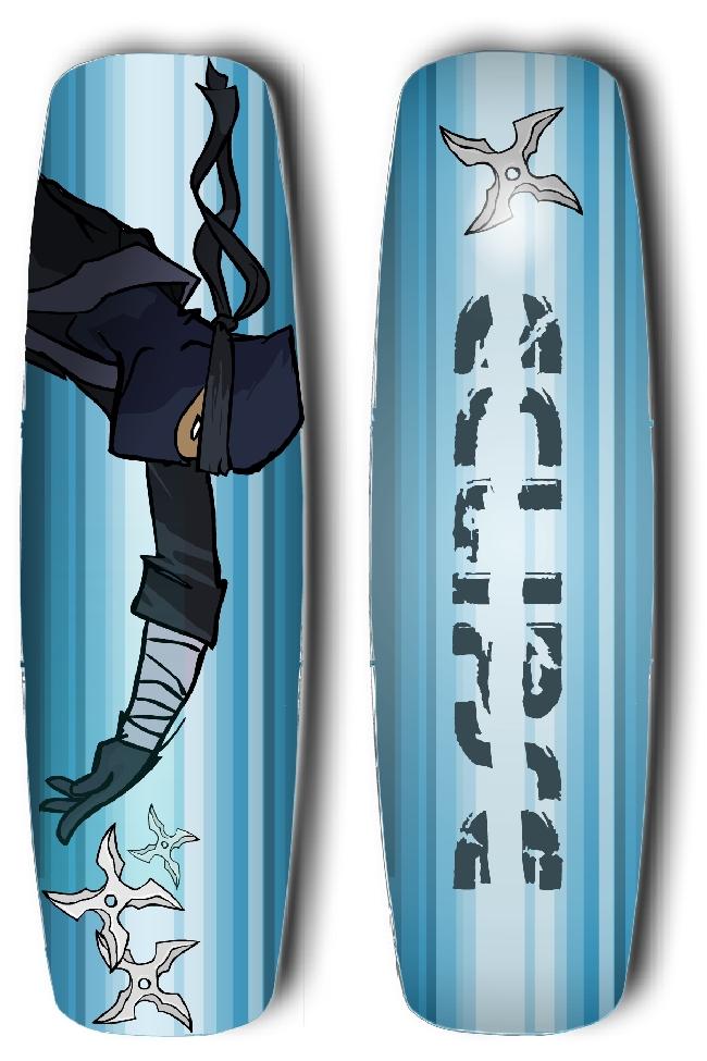 Ninja Star board design