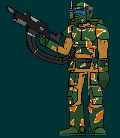 Imperial Guard Storm Trooper