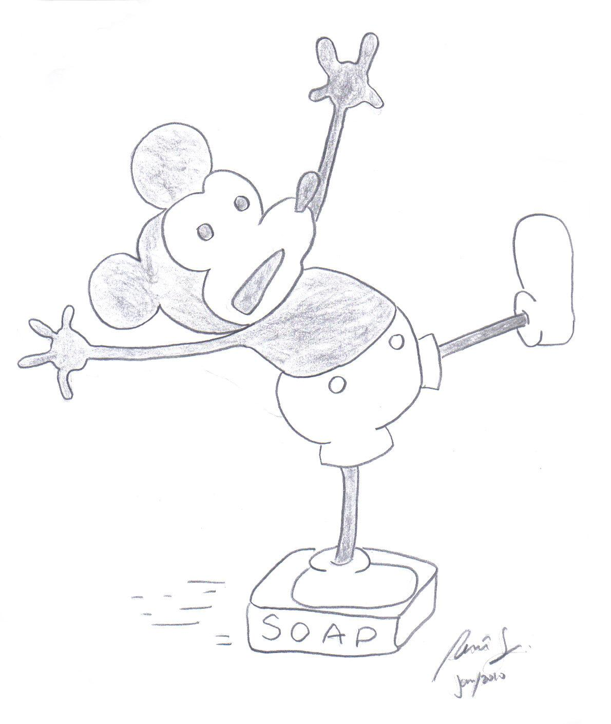 Mickey Mouse ~ 1928