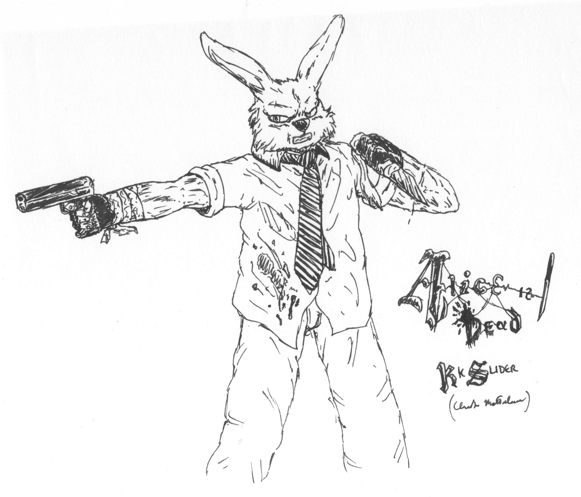 Rabbit (Alice is Dead tribute)
