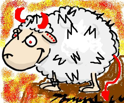 devil sheep