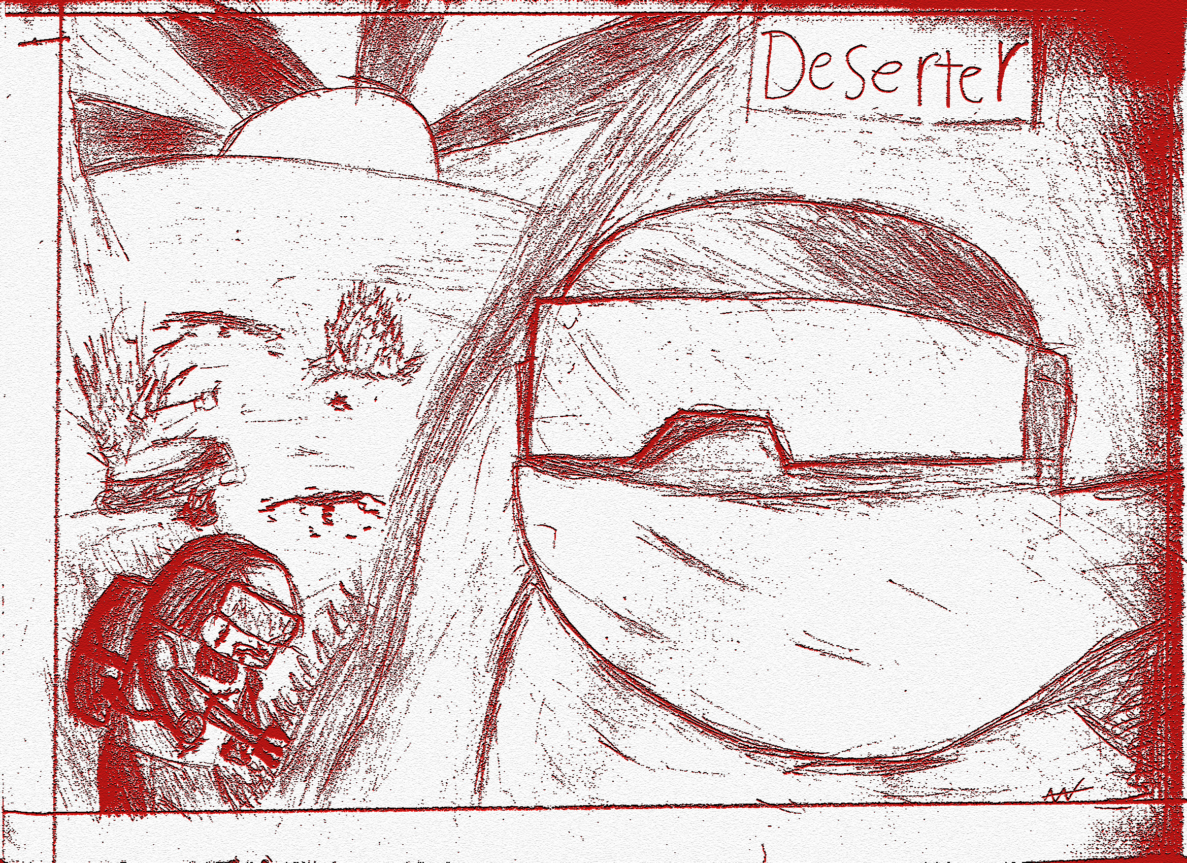 Deserter sketch