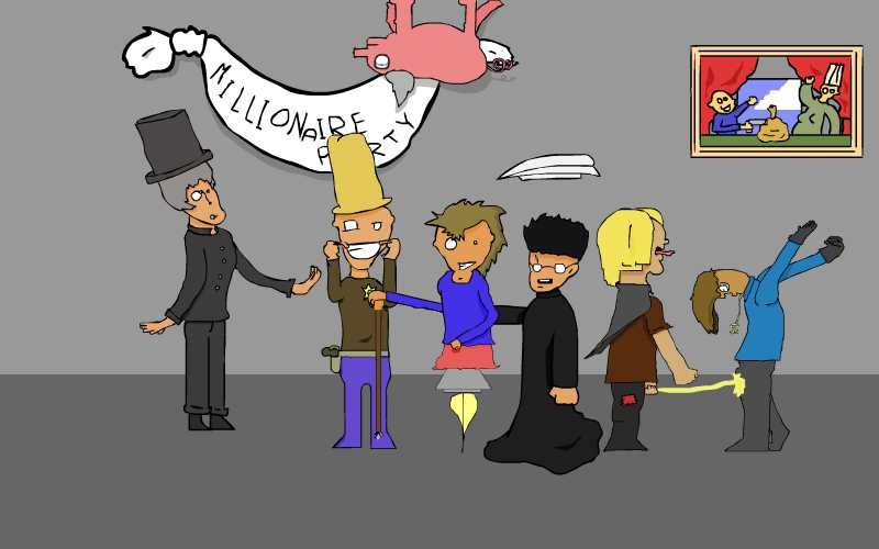 Millionaire party