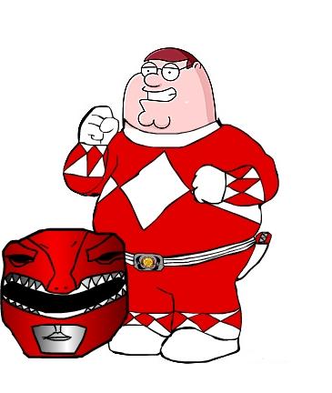 Red Ranger Peter