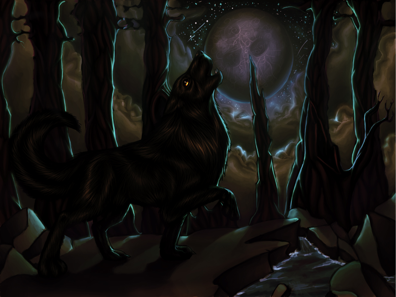howls of the harvest moon
