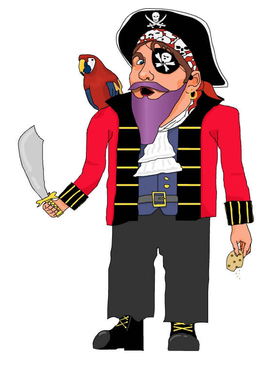 Captain Purple Beard !